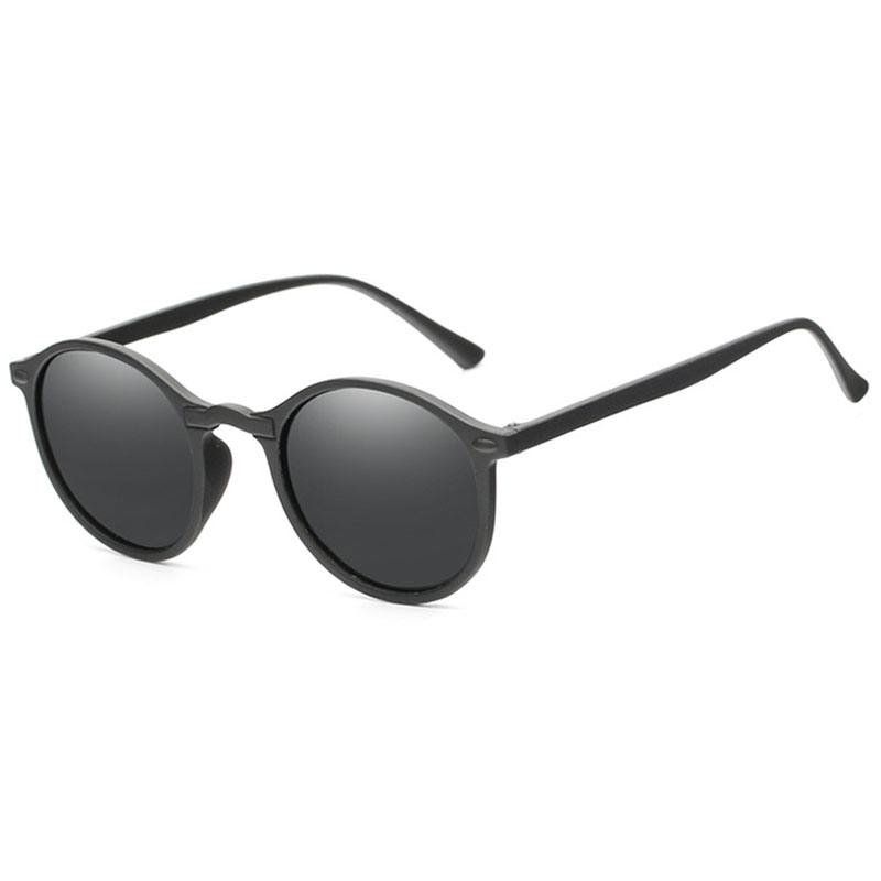 Fashion Round Polarized Sunglasses Retro Men Eyeglasses Brand Design Women Shades Sun Glasses UV400 Eyewear Oculos De Sol
