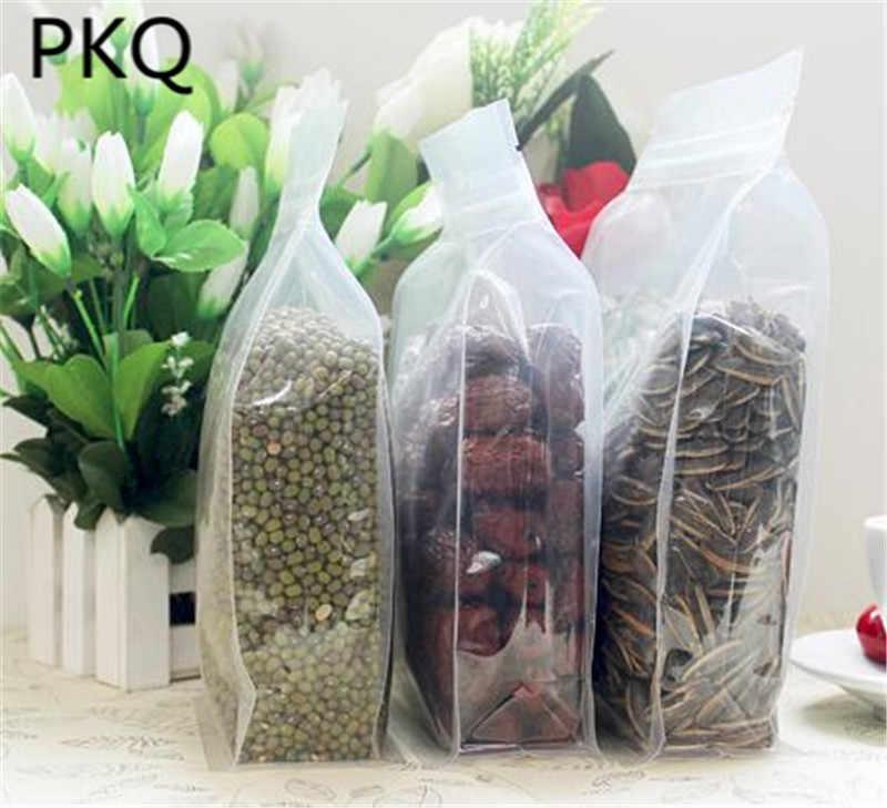 100 шт.; оптовая продажа; детское нижнее белье толстый пакеты с застежкой zip-lock многоразовые влагостойкий восьмиугольная сумка герметичный пакет с зажимом пакет для пищевых продуктов