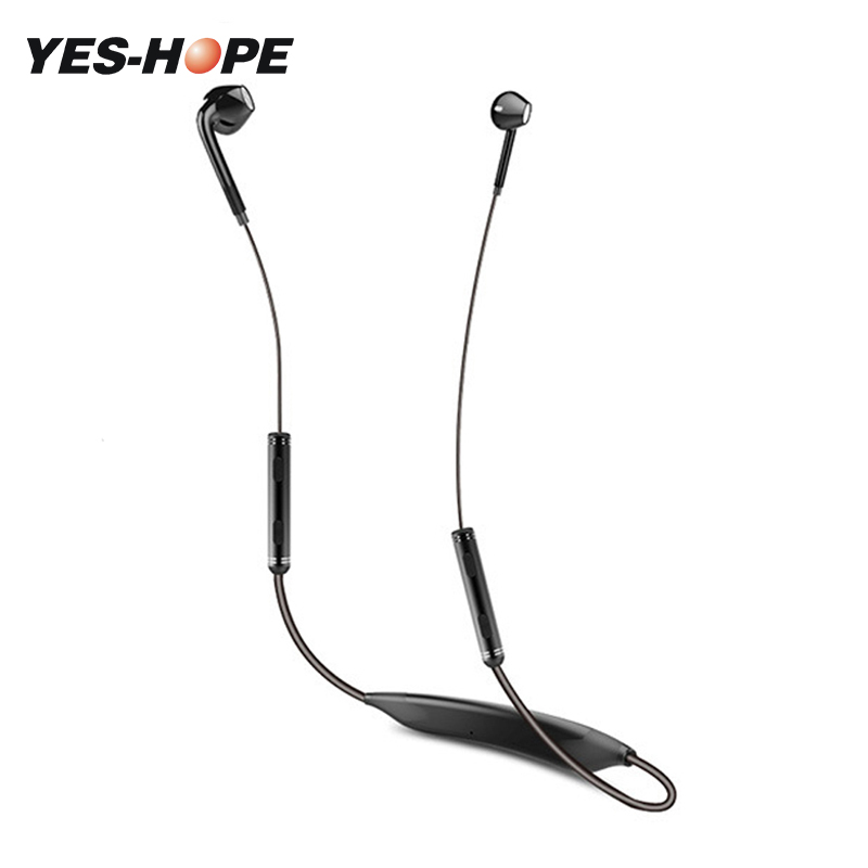 YES-HOPE Bluetooth V4.1 Wireless Headphones Sports Earphones Headsets Aptx HIFI 3D Stereo with MIC for Xiaomi iPhone letike bluetooth headphones wireless sports earphones sweatproof headset magnetic aptx hifi 3d stereo with mic for iphone xiaomi