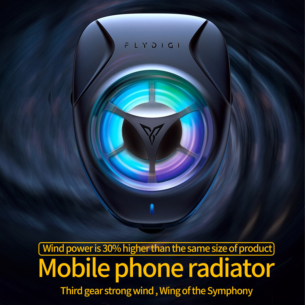 Flydigi Beewing Mobile Phone Radiator Hot Physical Cooling Fan Cooling Portable Phone king Glory PUBG  Auxiliary Artifact