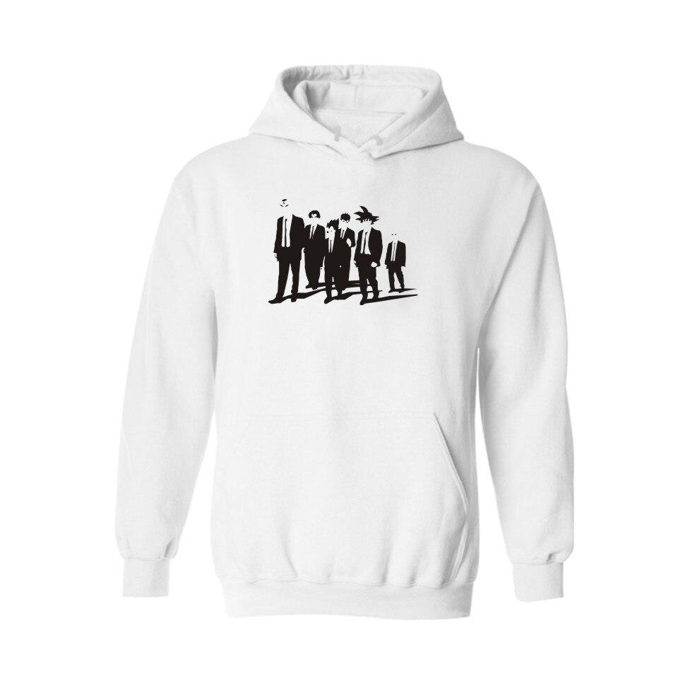 Dragon Ball Black/Gray New Hoodies Men Brand Designer Mens Sweatshirt Men to Super Saiyan Mens Hoodies and Sweatshirts 3xl
