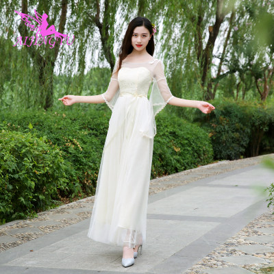 2018 sexy   bridesmaid     dress   wedding guest formal   dresses   BN719