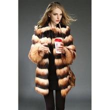 2016 Rushed Colete De Pele Feminina Europe Style Abrigo Female-coat Massimo Woman Spring Winter New Mosaic Faux Fur Vest Coat