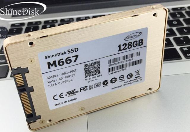 Nueva marca de alta calidad M667128G SSD de 2.5 pulgadas para uso portátil Y470