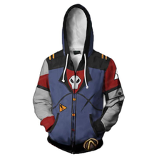 Fans Wear Hoodie 3d Printed Borderlands Sweatshirt Gaming Cosplay Hooded Sweatshirts Men Polyester