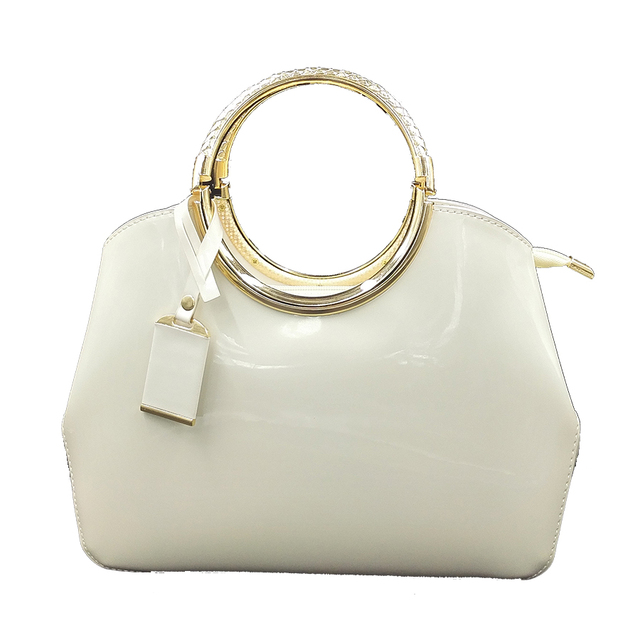 New Crossbody Bags For Women 2018 Luxury Las Handbags Patent Leather Bag White Red