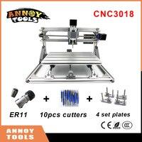 CNC 3018 Mini Diy CNC Laser Engraving Machine 0 5W 5 5W Laser Pcb Milling Machine