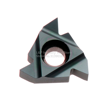 New Original Vargus Vardex 3ER 8UN VTX Thread Carbide Inserts 3ER 8 UN VTX Cutting Blade Tool Black image