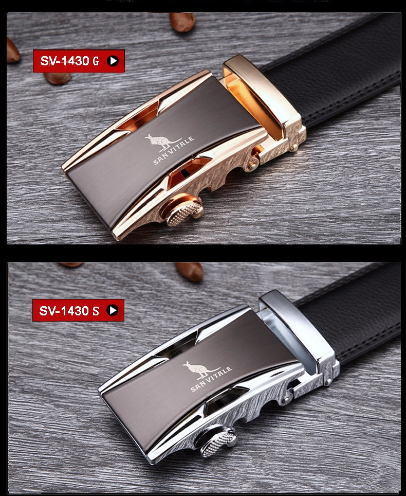 Men's Cowskin Genuine Leather Belts
