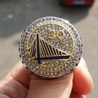 High Quality Free Shipping 2015 Golden State Warriors Championship Ring SZ 11 Fan Gift Basketball Wholesale