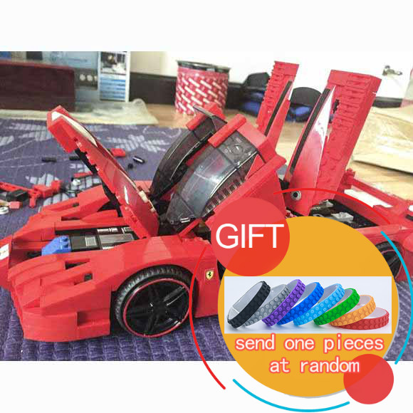 21009 632pcs FXX 1:17 Toy building blocks technic racing sports supercar model boy gift toy Compatible with 8156 toys lepin купить
