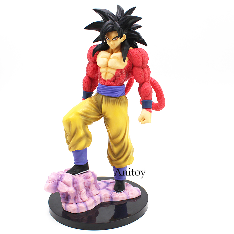 Dragon Ball Z Super Saiyan 4 Son Goku Pvc Action Figure
