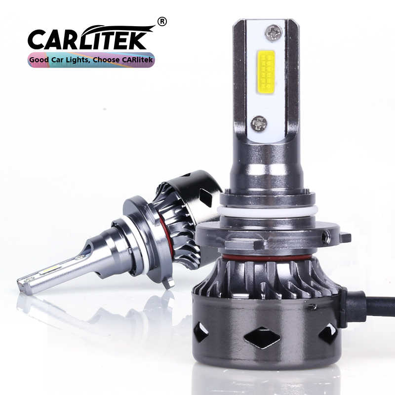 CARLitek car headlight led 9005 hb 3 9006 hb 4 car left right side headlamp bulb for universal cars 12v 24v 6000k 10000lm