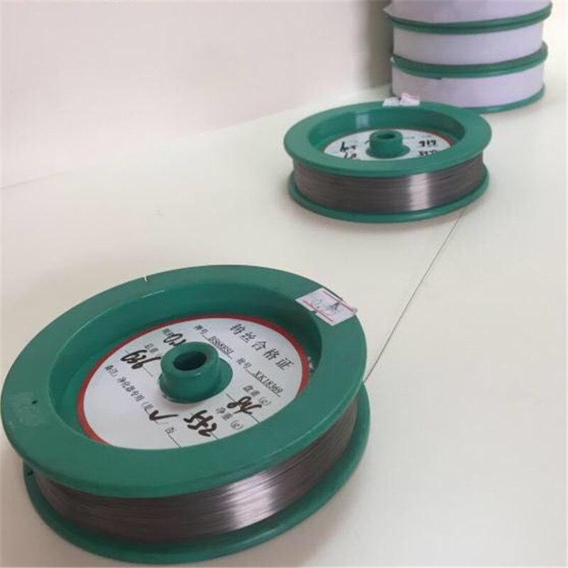 10 meter Air purifier sonder wolfram draht silber weiß schwarz 99.9% hohe reinheit elektrofilter wolfram draht