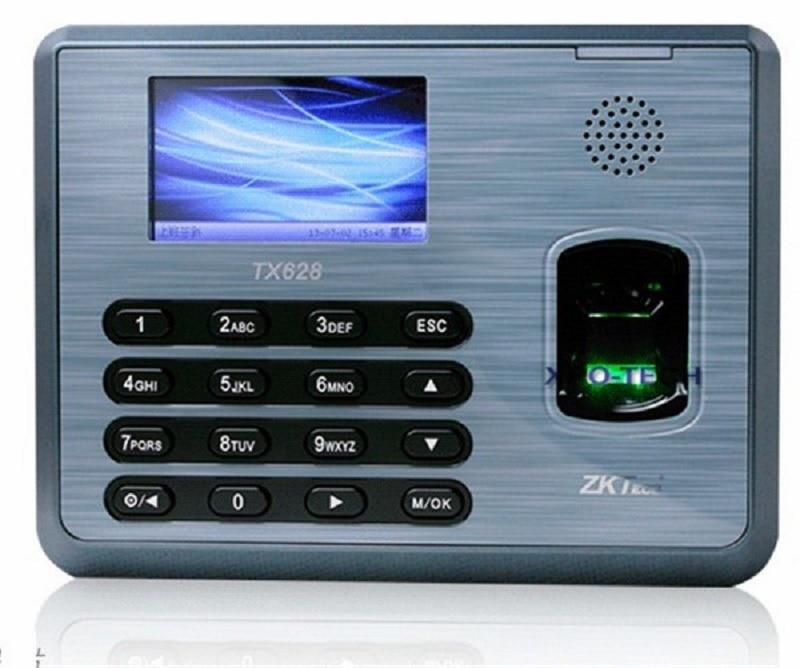 Zkteco TX628 TCP/IP 125 Khz EM Carte et D'empreintes Digitales Temps de Présence D'empreintes Digitales temps Des Employés de Présence Terminal
