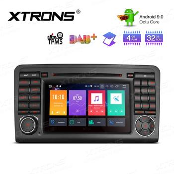 """Android 9.0 7"""" Car DVD Multimedia Navigation GPS Radio for Mercedes-Benz ML-Class W164 2005-2011 & GL-Class X164 2006-2012"""