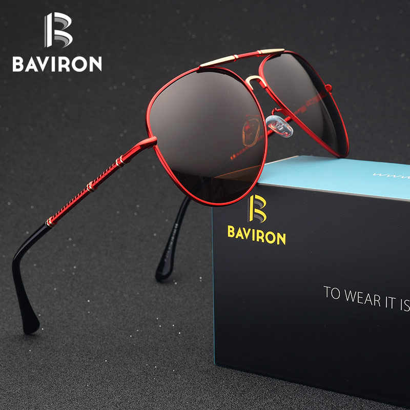 9e219e8d0d BAVIRON Pilot Style Sunglasses Men Polarized Lenses Driving Glasses Pilot  Classic Outfits Cool Teardrop Sun Glasses