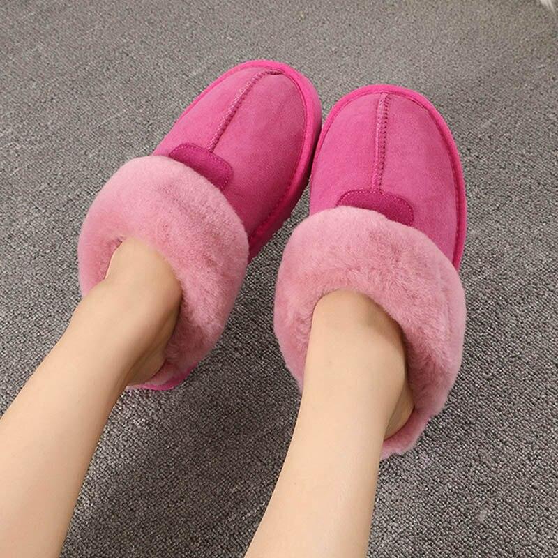 Schaffell Hohe 1 Warme 3 Hausschuhe Qualität 4 Frauen Weichen Dame Size34 11 Wolle Winter Schuhe Mode Hause Fell 9 10 7 6 2 5 44 8 5nxZY0Ywq