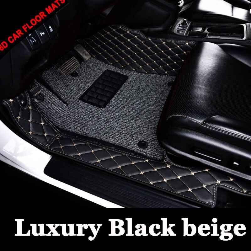 Custom fit esteiras do assoalho do carro para Volkswagen Beetle CC Passat Golf Tiguan sharan 6D tapete do assoalho liner