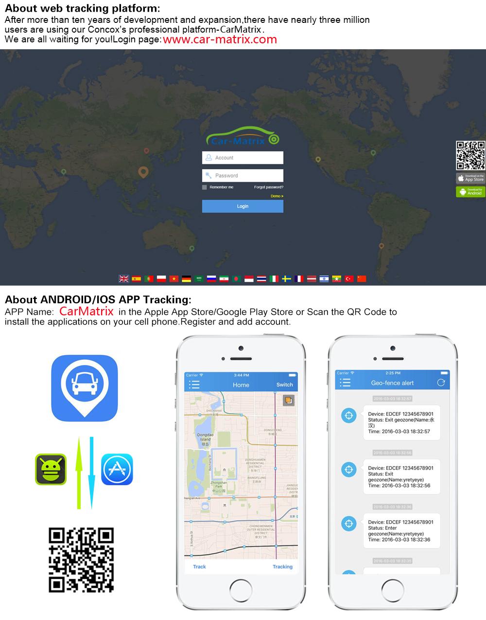 JC200 3G WCDMA Smart Car GPS Tracker Live video streaming Dual Camera  Recording popular Tracking Device SOS Remote Monitoring