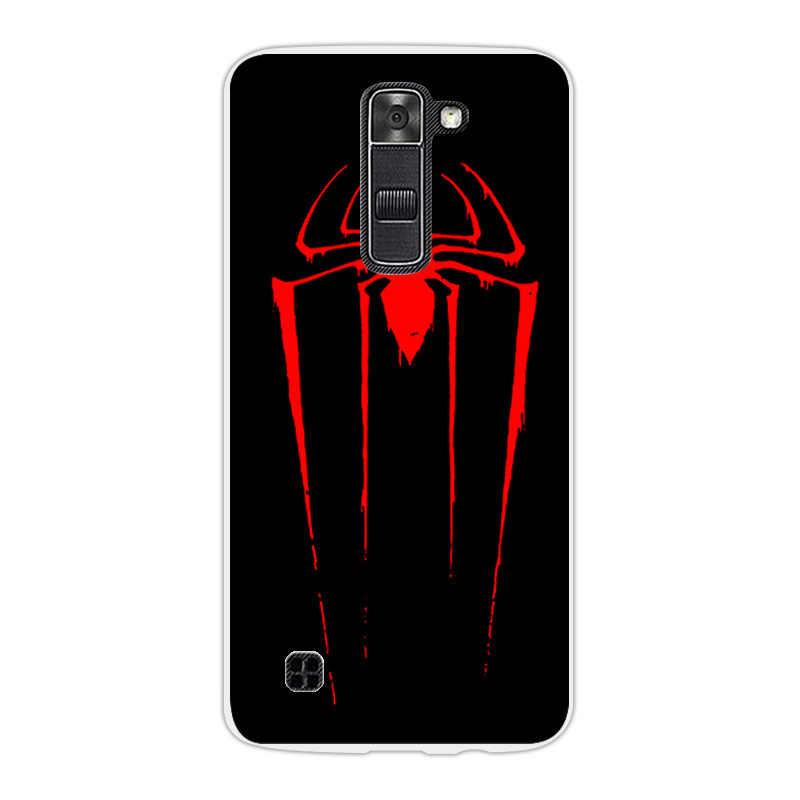 Cho LG LG K7 K330/Tribute 5 LS675/X210 X210DS Thời Trang Lại Fundas bìa đối VỚI LG K7 TPU Siêu Mỏng Silicon Sứa Điện Thoại trường hợp