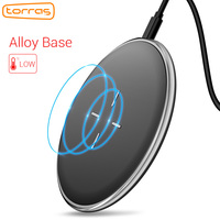 Qi Wireless Charger Torras 10W Fast Charger For IPhone Samsung Wireless Charging Pad For IPhone X
