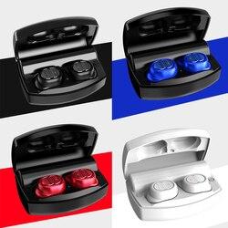 LEORY TWS bluetooth 5.0 słuchawki 4D system Hi Fi zestaw słuchawkowy obustronne Stereo otrzymać telefon zwrotny od Wiredless wodoodporna z 2200mAh Power Bank w Słuchawki douszne i nauszne Bluetooth od Elektronika użytkowa na