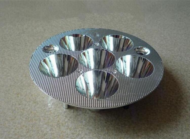 PSFH-125 High quality Led Reflector Cup, Motorcycle Reflective Cup, Size: 125X27.8mm, Surface: Plating, PC Materials