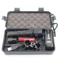Litwod Z30188 CREE XM L L2 Led Tactical Flashlight 5000Lm Zoomable Waterproof For Hunting Light Aluminum