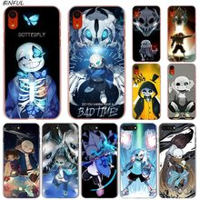 Phone-Cover-Case Transparent 6s-Plus iPhone X for Xs-Max XR 5 5C 4/4s Hard Undertale