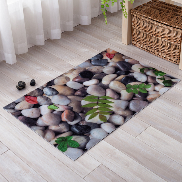 custom kitchen rugs ninja mega 1500 3d carpet cobblestone and carpets for home living room area rug skidproof made alfombras tapis