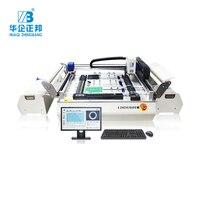 Электронное производство товаров SMT Мини рабочий стол низкая стоимость быстрая скорость выбор и место машина для изготовления светодиодны
