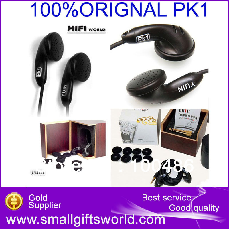 100% Original Yuin PK1 High Fidelity Quality Hifi Fever Professional Earphones  Earbuds