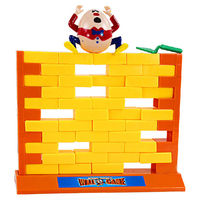 Demolish Wall Game Jokey Desktop Toy Family Game Novelty Toy for Kids&Adults Educational Building Blocks Puzzle Toy Bricks K0205