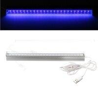 ビッグプロモーション6ワットusbポータブルuv ledブラックライト紫外線uvランプライトチューブdc5v器具ランプ用バーパーティークラブdj uvアー