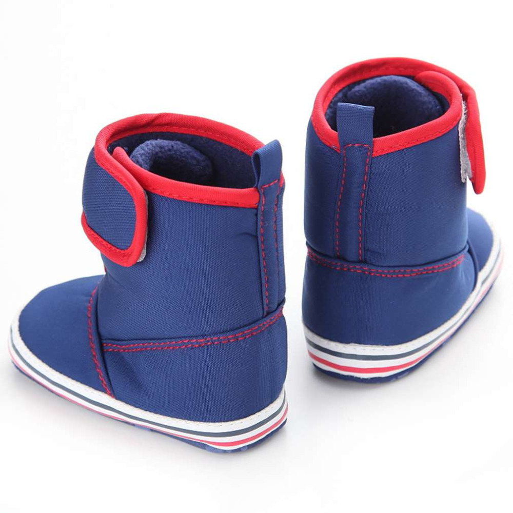 Objective Warm Winter Long Tube Baby Shoes Girls Boys Cashmere Thermal Baby Shoes Outdoor Wear Soft Insole Shoes 100% Brand New Lights & Lighting