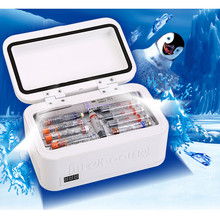 Draagbare Insuline Opslag Koeltas Diabetische Insuline Koelbox Constante Temperatuur Koelkast Mini Koelkast Ice Box