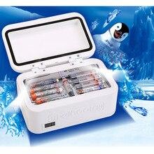 Refrigerador de isolamento para diabetes, portátil, saco, refrigerador, temperatura constante, geladeira, mini refrigerador, caixa de gelo