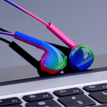 Wired Headphones 3.5mm Plug Music Earbuds Stereo Gaming Earphone With Mic For iP