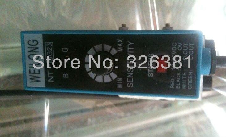 Cellule photoélectrique WEILONG NT-BG23 pour pièces en plastique usinées le sac de capteur photoélectrique de lumière électrique faisant la machine pièces de machine