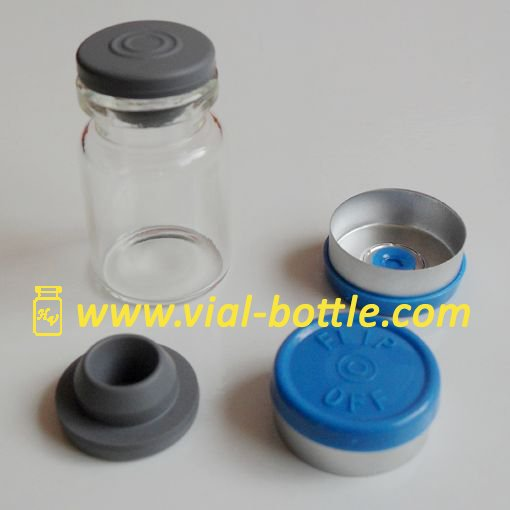 Injectable Steroids Glass Bottle 5ml With Round Rubber