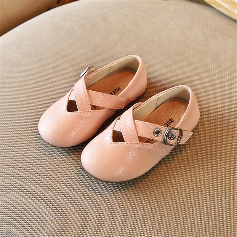 Toddler girls dress shoes White black pink infant girl shoes autumn princess party dancing cute little girls shoes leather все цены
