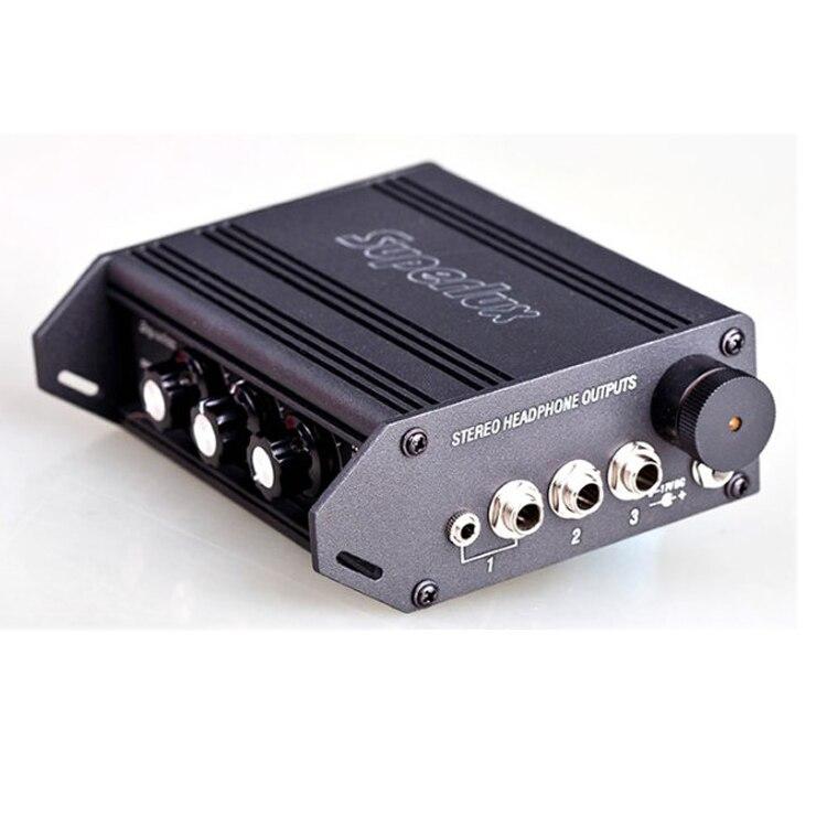 Amplificateur de casque portable Superlux HA3D amplificateur de casque à 3 canaux-in Casque Amplificateur from Electronique    3