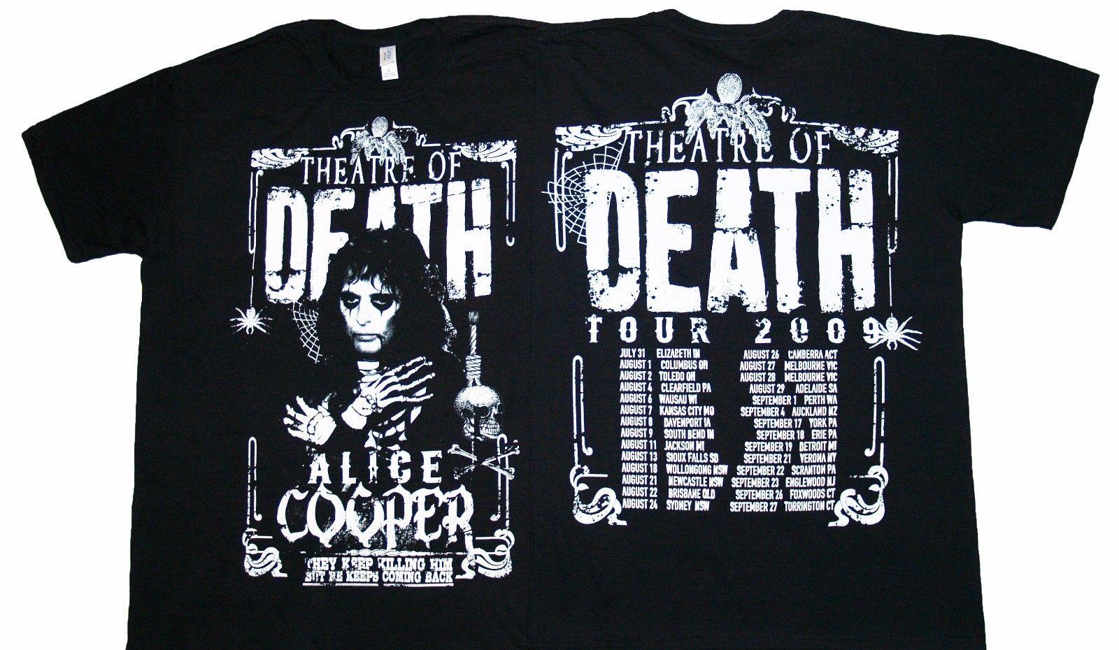 T shirt design york pa - Gildan Alice Cooper Theatre Of Death Men T Shirt China Mainland