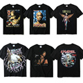 2PAC Camiseta Hombres Mujeres Alta Calidad del 1:1 Gangsta Rap Tupac Camiseta Hip Hop de Impresión de Ropa de Marca Relacionada Con Las Pandillas 2PAC Tupac Camiseta Camiseta
