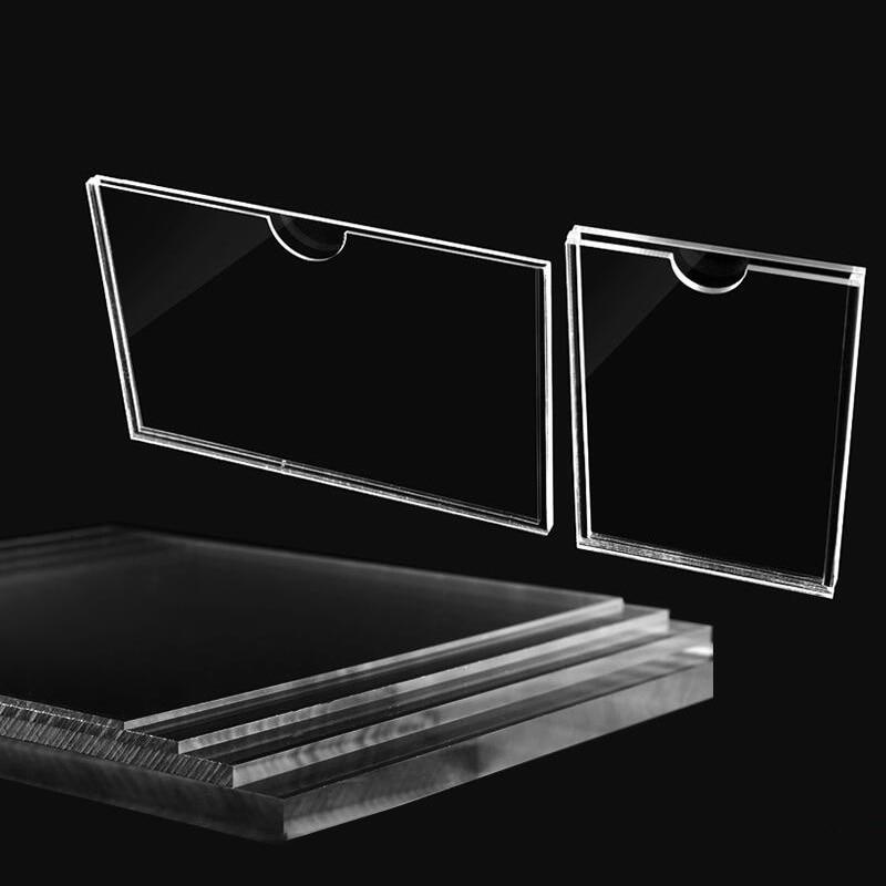 6 Sizes Clear Photo Frame Acrylic Frame Display Card