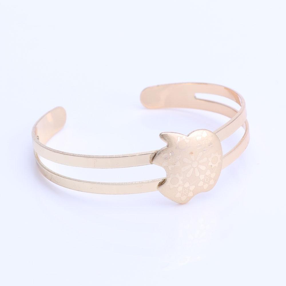 Guldfärg baby smycken set gåva barn smycken set barn smycken ring - Märkessmycken - Foto 3