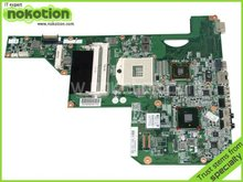 LAPTOP MOTHERBOARD for HP G62 G72 main board 605902-001 HM55 with ATI graphics DDR3