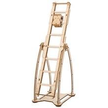 حار لتقوم بها بنفسك Robotime الحرف الخشبية سوينغ بوي تجميع الخشب الحرف أطقم ديكور المنزل نموذج الديكور اكسسوارات هدايا للأطفال