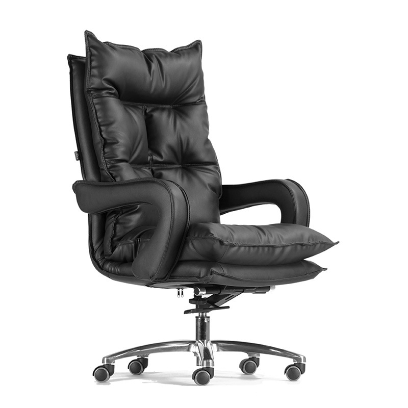 Continental Boss Chair Reclining Lifted Thicken Office Chair Simple Style Swivel Chair Multifunction Household Computer Chair